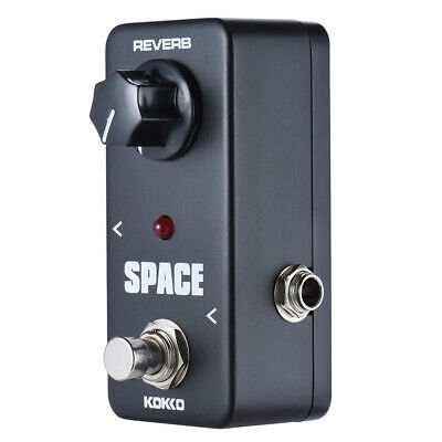 KOKKO Chitarra Elettrica Pedale Distortion Overdrive Mini Space Pedal Acces V4O0