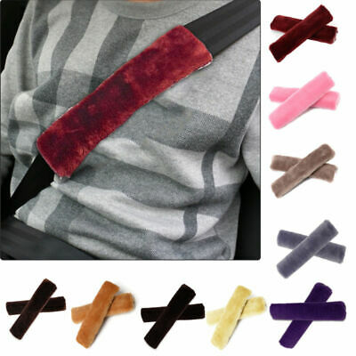 Car Seat Belt Pads Harness Safety Shoulder Strap BackPack Cushion Covers 2X