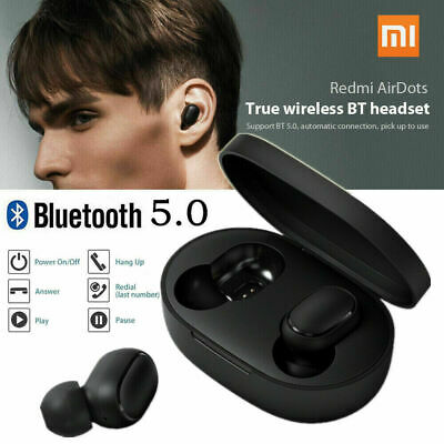 MI Xiaomi TWS Airdots Headset Bluetooth Earphone Headphone Stereo Earbuds
