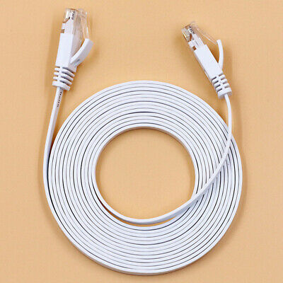 RJ45 CAT6 Network LAN Cable Gigabit Ethernet Fast Patch Lead 1m/50m Wholesale UQ
