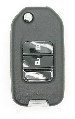 Fits Honda CIVIC HR-V CR-V Accord ETC Remote Key FOB 3 Button Remote Key Case