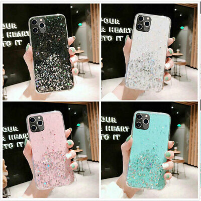 iPhone 11 Pro XS Max XR 7 8 Case Glitter Bling Armor Heavy Duty Shockproof Cover