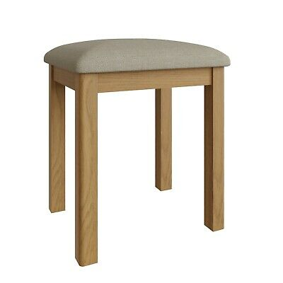 Dovedale Oak Dressing Table Stool / Foot Stool / Pouffe