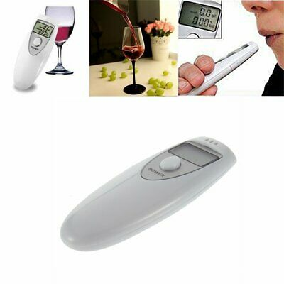 Professional Police Breath-Alcohol Tester LCD Digital Breathalyser Analyzer CDE