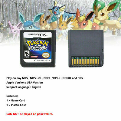 Pokemon Diamond  Version Game Card Fits Nintendo 3DS NDSI NDS Lite L2Y0A