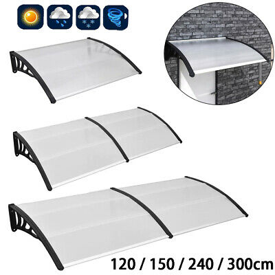 Outdoor Door Canopy Roof Cover Awning Shelter Window Patio Front Back Porch