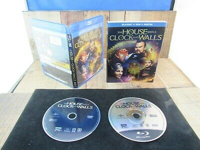 The House with a Clock in Its Walls BluRay/DVD 2018 NO Digital Code Used