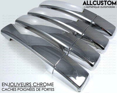 DESIGN CACHES CHROME POIGNEES PORTES pour LAND RANGE ROVER SPORT 05-09 HSE V6 V8