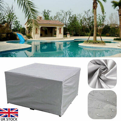 Waterproof Garden Patio Furniture Cover for Rattan Table Cube Seat Lounge Chair