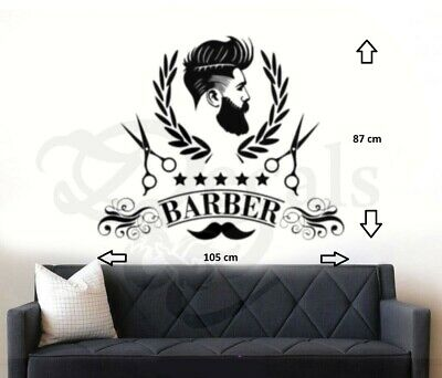 BarberShop Barber Wall Art/Window Sticker/Decal