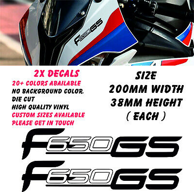 BMW F650GS Decal Sticker Graphic Motorcycle Fairing Motorbike Racing