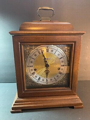 Howard Miller Triple Chime Mantle Clock (1050-020) with Winding Key. WORKS!