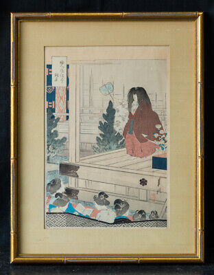 Antique 19th Century Japanese Ukiyo-e/Woodblock Print