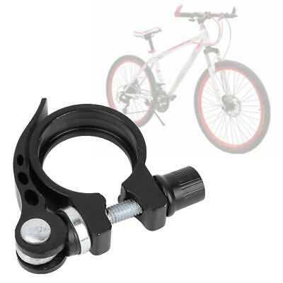 Quick Release Aluminum Alloy Bicycle Seat Post Clamp Mountain Bike Parts #S5
