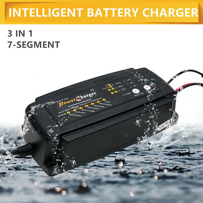 Car Smart Battery Charger Automatic Intelligent 12V Cars Bike Vans 2/4/8 A UK