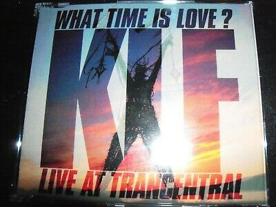 The KLF – What Time Is Love? (Live At Trancentral) (Australian) CD Single