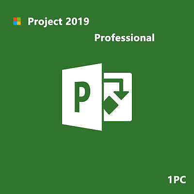 Genuine Ms Project Professional 2019 Product Key Bind to Your Microsoft Account