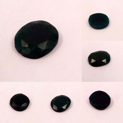 Natural Dyed Faceted Emerald Cut Gemstone NM13184-13193 Free Shipping