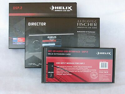 HELIX DSP 2 + Director High-End Digital 8-Channel + Remote + Dmp