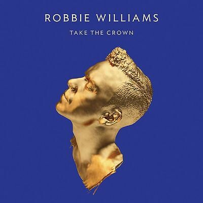 Take The Crown Limited Deluxe Edition CD+DVD Box Set von Robbie Williams Neu OVP