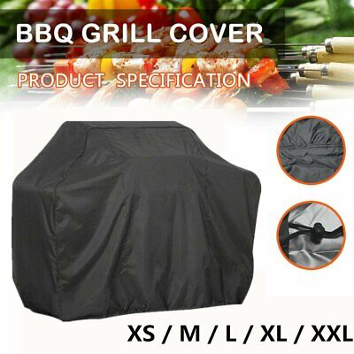 Xs-Xlarge Bbq Cover Heavy Duty Waterproof Rain Snow Barbeque Grill Protector Uk