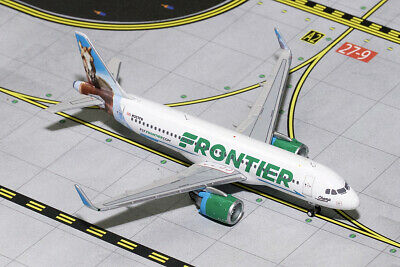 GEMINI JETS FRONTIER Airlines Airbus A320 Neo Bronco Tail Gjfft1617 1:400  Scale