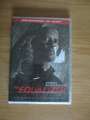 The Equalizer - Combo DVD + BLU-RAY - Denzel Washington - Neuf sous blister