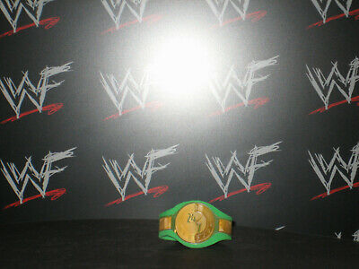 Custom WWF WWE 24/7 Champion Title Belt Hasbro Mattel Retro Wrestling Figures
