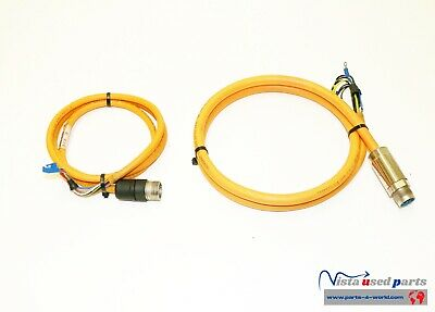 Indramat Mkd Motor Encoder Iks4153 Power Cable Ikg4016