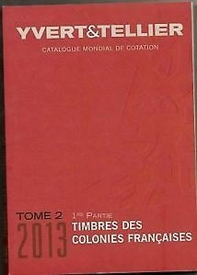 Yvert & Tellier catalogues Vol 1 - 6 2005 - 2013 on DVD #S