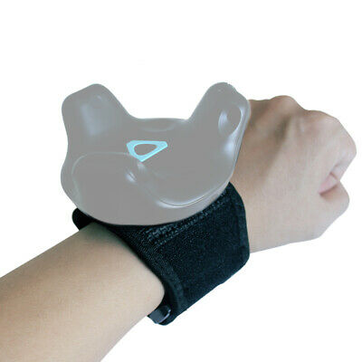 Reality Wristband Adjustable For HTC Vive Tracker Flexible Black Band Durable