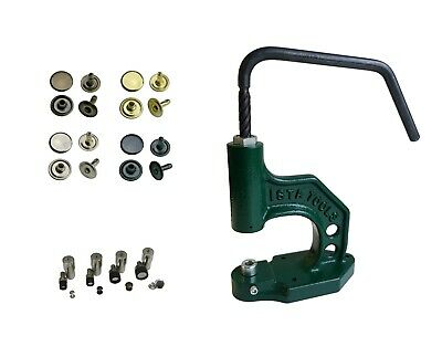 Set Spindle Press with Hollow Rivets Single Head 6mm,7mm,9mm,12mm Steel