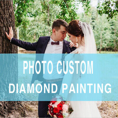 Photo Custom Diamond Painting Full Drill Make Your Own Painting Souvenir Wedding