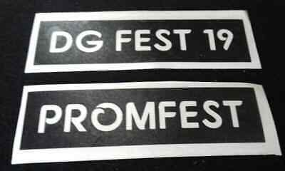 Your Festival / Event promotion stencils for glitter / airbrush personalised