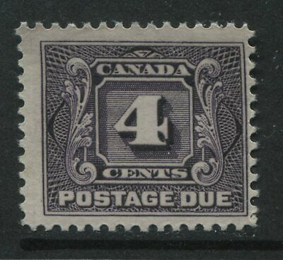 Canada 1928 4 cent Postage Due unmounted mint NH