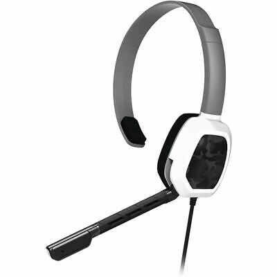 PDP Xbox One Afterglow LVL1 Wired Headset White