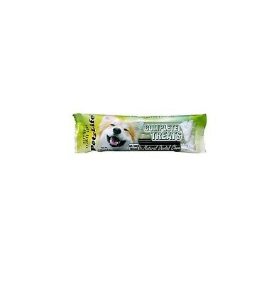 Complete Treats Natural Dental Chews for Dogs 1pk S/Medium
