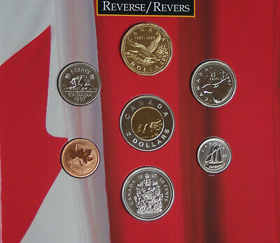 1997 Canada Oh Canada set - 7 perfect coins in original packaging A1 coins!