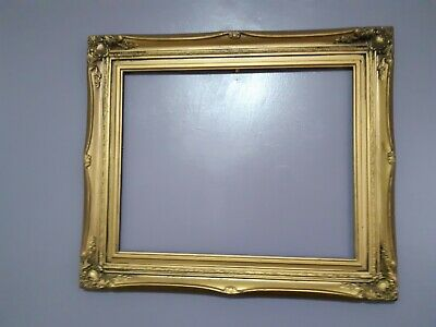 Antique Vintage French Provincial style GILT GOLD color frame 65cm x 45cm