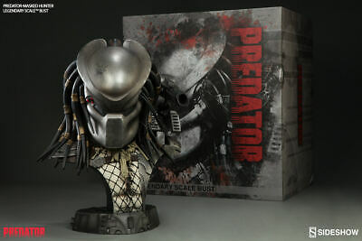 Sideshow Predator Masked Hunter Bust EXCLUSIVE with Nameplate