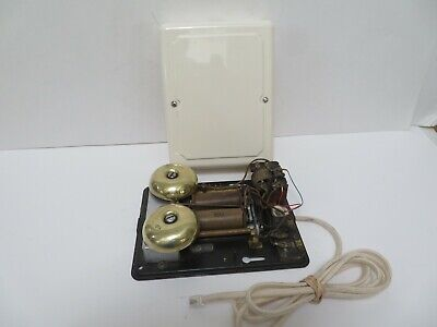 Antique Western Electric telephone Nice 684 A ringer subset Ivory