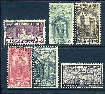 Portugal 1931 death of St Anthony set fine used
