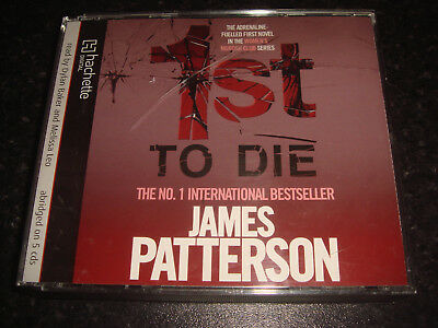 Audiobook - 1st To DIE - James Patterson - 5 CDs - abridged - Used