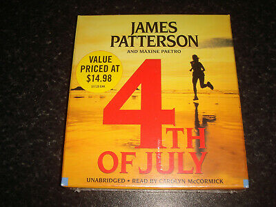 Audiobook - 4th of July - James Patterson - 7 CDs - unabridged - New, sealed