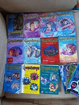 21 Goosebumps books paperback bundle RL Stine horror bundle set 1990s vintage