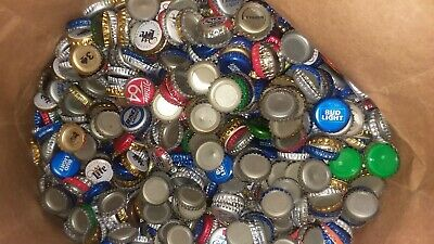 2000 + Beer Bottle Caps / Lids Dented