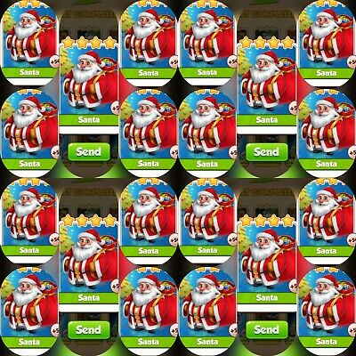 Coin Master Card's Bundle ***20x Santa*** (Fastest Delivery)