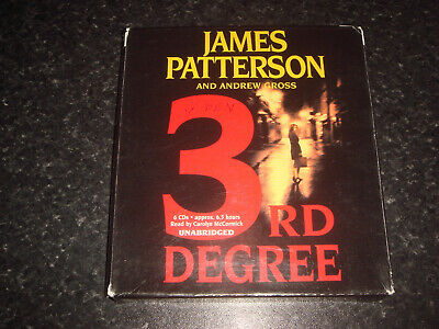 Audiobook - 3rd Degree - James Patterson - 6 CDs - unabridged - Used