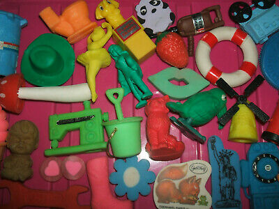 RARE VINTAGE 1980s COLLECTION OF ERASERS RUBBERS - LOT 15