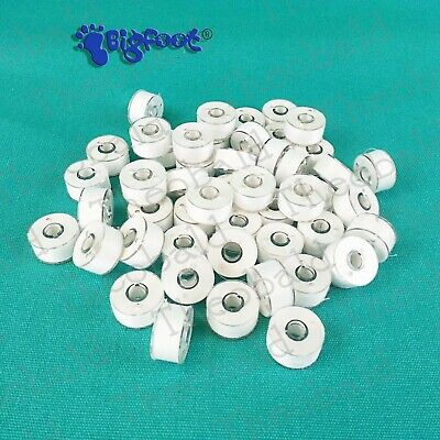 WOUND BOBBINS EMBROIDERY MACHINE FIT BROTHER,JANOME,BERNINA etc. ALSO IN BLACK